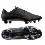 Nike Mercurial Vapor 13 Elite Tech Craft FG Voetbalschoenen Zwart