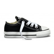 Converse All Star Laag Zwart Kinder