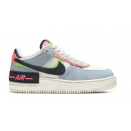 Nike Air Force 1 Shadow Sail Black Sunset Pulse