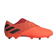 Adidas Nemeziz 19.2 FG Voetbalschoenen Oranje Zwart