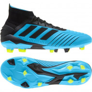 Adidas Predator 19.1 FG Voetbalschoenen Blauw Zwart