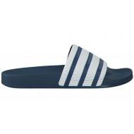 Adidas Adilette Slippers Wit/blauw