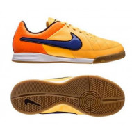 Nike Tiempo Genio Leather Indoor Junior Orange Volt Purple
