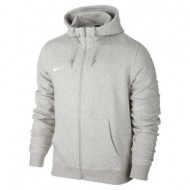 Nike Team Club Full-Zip Hoodie Grey Heather