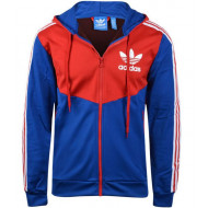 Adidas Originals Hooded Flock Blauw/Rood
