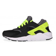 Nike Air Huarache Run Zwart/Geel Junior