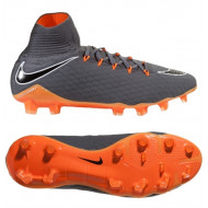 Nike Hypervenom Phantom 3 Pro Dynamic Fit FG Dark Grey Total Orange
