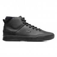 Lacoste Sneaker Zwart Hoog