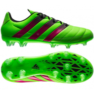 Adidas ACE 16.2 FG Leather Solar Green Shock Pink