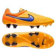 Nike Tiempo legend V FG Orange Volt Purple