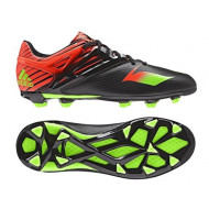 Adidas Messi 15.1 FG-AG Core Black Solar Green Junior