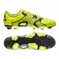 Adidas X 15.2 FG-AG Leer Solar Yellow