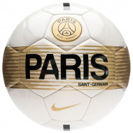 Nike PSG Paris Saint Germain NK Supporters Voetbal Wit/ Zwart/Goud