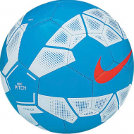 Nike Pitch Voetbal Blauw/wit
