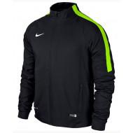Nike Squad 15 Sidelinie Woven Jacket Black Volt