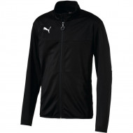 Puma Esquadra Poly Trainingsjas Junior Zwart