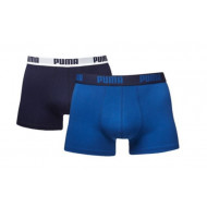 Puma Basic Boxer 2-Pack Blauw