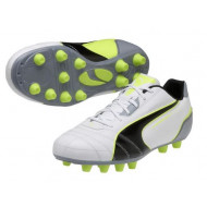 Puma Universal FG White Black Yellow