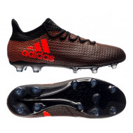 Adidas X 17.2 FG Core Black Solar Red