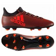 Adidas X 17.3 FG Core Black Solar Red