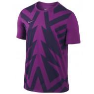Nike Training Kamp Shirt Purple Black