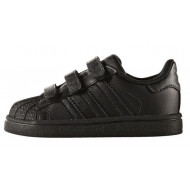 Adidas Superstar Foundation Junior Zwart/Zwart