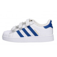 Adidas Superstar Foundation Junior Wit/Blauw