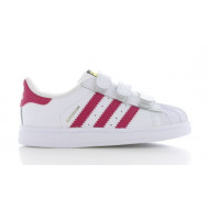 Adidas Superstar Foundation Junior Wit/Roze