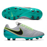 Nike Tiempo Genio II Leather FG Wolf Grey