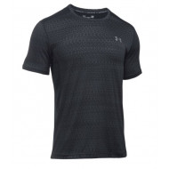 Under Armour Raid Jacquard Shirt Zwart