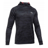 Under Armour Tech Terry Fitted Hoodie Zwart