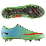 Nike Mercurial Vapor IX SG Groen/Blauw