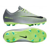 Nike Mercurial Vapor XI FG Junior Pure Platinum Black Ghost Green