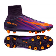 Nike Mercurial Veloce Dynamic Fit III AG Pro Purple Orange