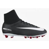 Nike Mercurial Victory VI DF AG Junior Black White