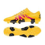 Adidas X 15.2 FG-AG Solar Gold Shock Pink